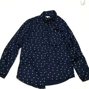 Target Collection Women's Front Button Up Top